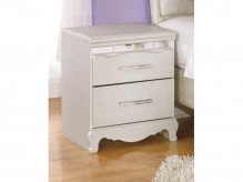 Ashley Zarollina Two Drawer Nightstand Available Online in Dallas Fort Worth Texas