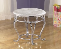 Zarollina Vanity Stool Available Online in Dallas Fort Worth Texas