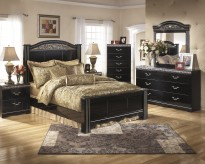 Ashley Constellations 5pc King Poster Bedroom Group Available Online in Dallas Fort Worth Texas