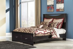 Ashley Zanbury Queen Panel Storage Bed Available Online in Dallas Fort Worth Texas