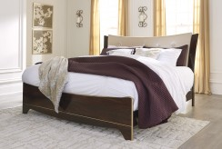 Ashley Lenmara King Panel Bed Available Online in Dallas Fort Worth Texas