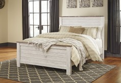 Ashley Willowton Queen Panel Bed Available Online in Dallas Fort Worth Texas