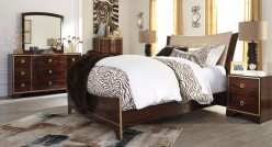 Ashley Lenmara 5pc King Panel Bedroom Group Available Online in Dallas Fort Worth Texas