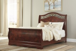 Ashley Delianna Queen Sleigh Bed Available Online in Dallas Fort Worth Texas