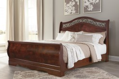 Ashley Delianna King Sleigh Bed Available Online in Dallas Fort Worth Texas