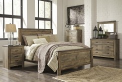Ashley Trinell 5pc Queen Panel Bedroom Group Available Online in Dallas Fort Worth Texas