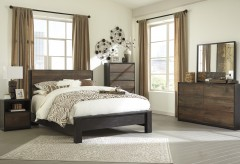 Ashley Windlore 5pc Queen Panel Bedroom Group Available Online in Dallas Fort Worth Texas
