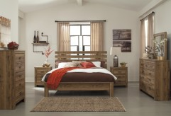 Ashley Cinrey 5pc King Panel Bedroom Group Available Online in Dallas Fort Worth Texas