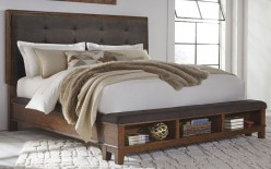 Ashley Ralene King Panel Storage Bed Available Online in Dallas Fort Worth Texas
