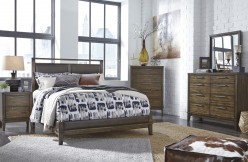 Ashley Zilmar 5pc Cal King Upholstered Panel Bedroom Group Available Online in Dallas Fort Worth Texas