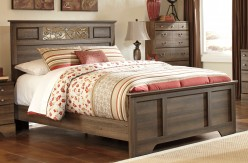 Ashley Allymore Queen Panel Bed Available Online in Dallas Fort Worth Texas