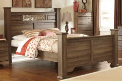 Ashley Allymore Queen Poster Bed Available Online in Dallas Fort Worth Texas