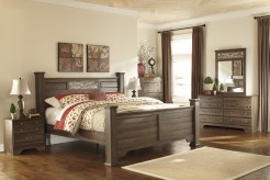Ashley Allymore 5pc King Poster Bedroom Group Available Online in Dallas Fort Worth Texas
