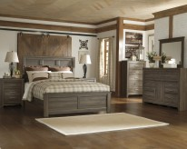 Ashley Juararo 5pc King Panel Bedroom Group Available Online in Dallas Fort Worth Texas