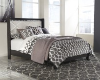 Ashley Fancee Black Queen Panel Bed Available Online in Dallas Fort Worth Texas