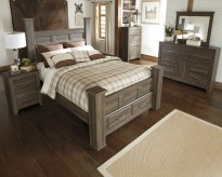 Ashley Juararo 5pc King Poster Storage Bedroom Group Available Online in Dallas Fort Worth Texas