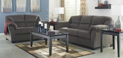 Ashley Kinlock Charcoal 2pc Sofa & Loveseat Set Available Online in Dallas Fort Worth Texas