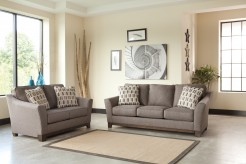 Ashley Janley 2pc Slate Sofa & Loveseat Set Available Online in Dallas Fort Worth Texas