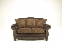 Ashley Fresco DuraBlend Loveseat Available Online in Dallas Fort Worth Texas