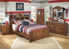 Barchan 5pc Full Bookcase Bedroom Group Available Online in Dallas Fort Worth Texas