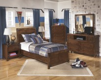 Delburne 5pc Twin Panel Bedroom Group Available Online in Dallas Fort Worth Texas