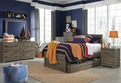 Ashley Javarin 5pc Twin Panel With Trundle Bedroom Group Available Online in Dallas Fort Worth Texas