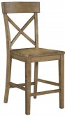 Ashley Trishley Light Brown Counter Height Chair Available Online in Dallas Fort Worth Texas