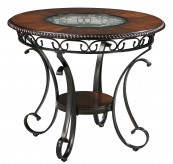 Ashley Glambrey Brown Round Counter Height Table Available Online in Dallas Fort Worth Texas