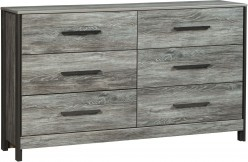 Cazenfeld Black and Grey Dresser Available Online in Dallas Fort Worth Texas
