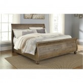 Ashley Trishley Cal King Sleigh Bed Available Online in Dallas Fort Worth Texas