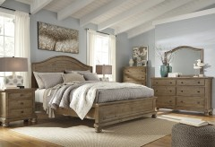 Ashley Trishley 5pc King Panel Bedroom Group Available Online in Dallas Fort Worth Texas