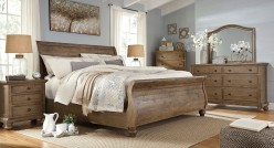 Ashley Trishley 5pc Cal King Sleigh Bedroom Group Available Online in Dallas Fort Worth Texas
