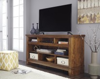 Ashley Ralene Brown TV Console Available Online in Dallas Fort Worth Texas
