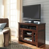 Ashley Harpan Reddish Brown TV ... Available Online in Dallas Fort Worth Texas