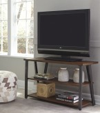 Ashley Banilee Chestnut TV Stand Available Online in Dallas Fort Worth Texas