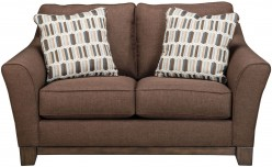 Ashley Alara Chocolate Loveseat Available Online in Dallas Fort Worth Texas
