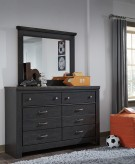 Ashley Westinton Black and Brown Bedroom Mirror Available Online in Dallas Fort Worth Texas