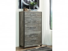 Cazenfeld Black and Grey Chest Available Online in Dallas Fort Worth Texas