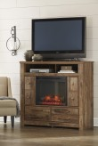 Ashley Blaneville Media Chest with Fireplace Available Online in Dallas Fort Worth Texas