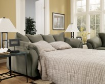 Ashley Darcy Sage Full Sofa Sle... Available Online in Dallas Fort Worth Texas