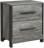 Cazenfeld Black and Grey Night Stand Available Online in Dallas Fort Worth Texas