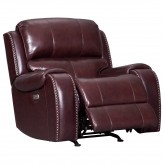 Ashley Gilmanton Burgundy Power Rocker Recliner Available Online in Dallas Fort Worth Texas