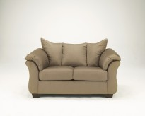 Darcy Mocha Loveseat Available Online in Dallas Fort Worth Texas