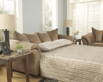 Ashley Darcy Mocha Full Sofa Sleeper Available Online in Dallas Fort Worth Texas