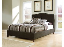 Ashley Kasidon Brown Cal King Upholstered Bed Available Online in Dallas Fort Worth Texas