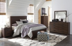 Ashley Arkaline 5pc King Panel Bedroom Group Available Online in Dallas Fort Worth Texas