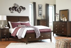 Ashley Evanburg 5pc Queen Sleigh Under Storage Bedroom Group Available Online in Dallas Fort Worth Texas