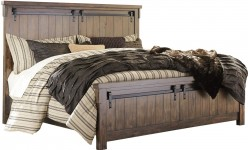 Ashley Lakeleigh King Panel Bed Available Online in Dallas Fort Worth Texas