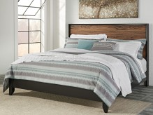 Ashley Stavani King Panel Bed Available Online in Dallas Fort Worth Texas