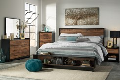 Ashley Stavani 5pc King Storage Bedroom Group Available Online in Dallas Fort Worth Texas